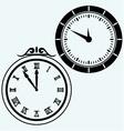 Set symbol clock vector image
