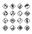 Ecology icons - Set for Web Applications vector image vector image