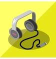 earphone vector image