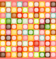 seamless squares pattern rectangles retro warm vector image
