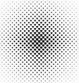 Monochrome heart pattern background design vector image