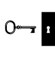 Old Classic Key vector image vector image