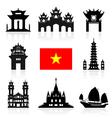 Vietnam Travel Icon vector image