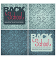 back to school backgrounds vector image