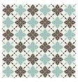 seamless pattern vintage floral background illus vector image