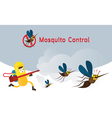 Mosquito Control vector image