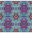 Seamless aztec pattern Ethnic background vector image
