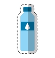water bottle drink icon vector image