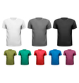 men t-shirts design template vector image