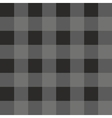 Tile dark grey and black plaid pattern vector image vector image