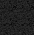Black seamless star pattern background vector image vector image