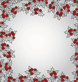 Background with mistletoe for Christmas designs wi vector image