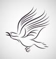 Crow logo vector image