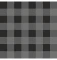 Tile dark grey and black plaid pattern vector image