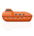 lifeboat vector image