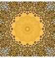 Seamless ornate mandala frame Oriental vector image