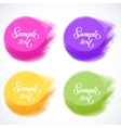 colorful banners vector image