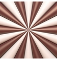 Abstract chocolate and cream background vector image