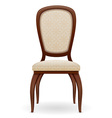 chair 01 vector image