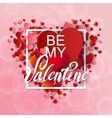 Happy valentines day and weeding background vector image