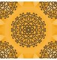 Arabesque Motif Print vector image