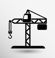 building crane icon button logo symbol concept vector image