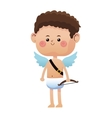 cute little cupid valentine day vector image