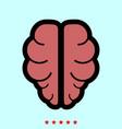 brain it is icon vector image