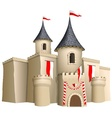 Fairy-tale castle vector image