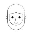 abraham lincoln comic character vector image