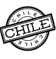 Chile rubber stamp vector image