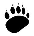 animals footprint icon vector image