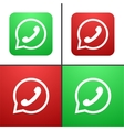 modern phone icon set vector image