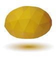 Triangle melon vector image