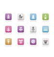 child and baby online shop icons vector image