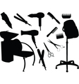 hair equipment vector image vector image