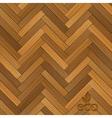 wood parquet floor vector image vector image