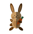 cute rabbit or bunny icon image vector image