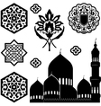 Islamic ornaments vector image vector image
