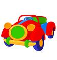 Toy cabriolet vector image
