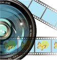 Drawing digital photo vector image