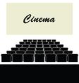 cinema color vector image