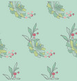 colorful seamless pattern with drawn vector image