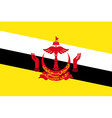 Flag of Brunei vector image