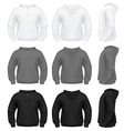 Hooded sweatshirt vector image