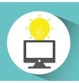 computer network desktop creativity vector image
