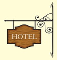 Hotel1 resize vector image vector image