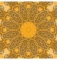 Yoga Ornament kaleidoscopic floral mandala vector image