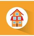 modern house home energy eco vector image
