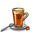 black tea vector image